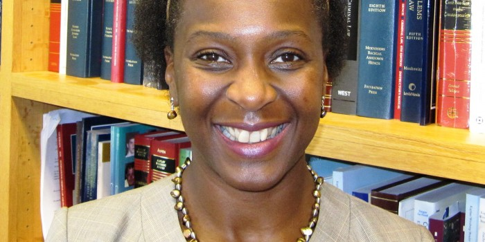 Iyiola Solanke is a visiting professor from Leeds University Law School in the United Kingdom.