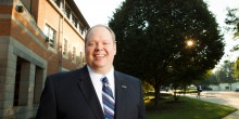 Photo of Jay Shively, assistant dean for Admissions and Financial Aid
