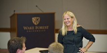 Photo of Wake Forest University School of Law Alumni Marjorie Benbow ('99)