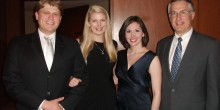 Photo of national moot court team in Richmond