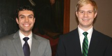 2013 Zeliff Competitors Austen Irrobali ('14) and Justin May ('14)