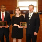 Nathan Harrill ('14), Bethany Corbin ('14), and Justin Jenkins ('14)