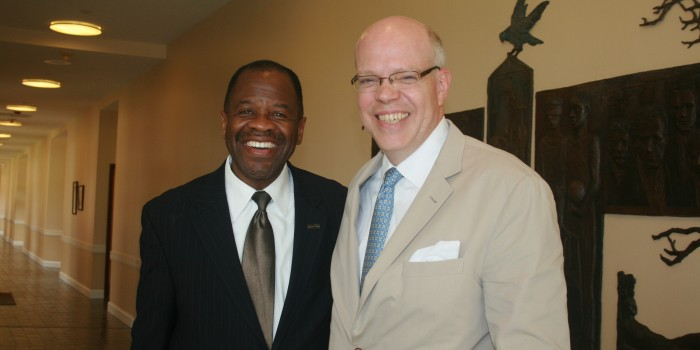 Photo of Dean Blake Morant and Jeff Whittle ('91)