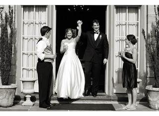 Wedding photo of Shauna and Brandon Barnes