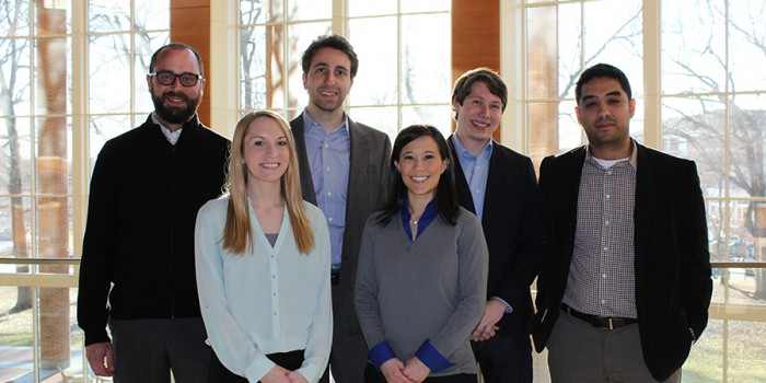 Group photo of WFU Breast Cancer Startup Challenge Team