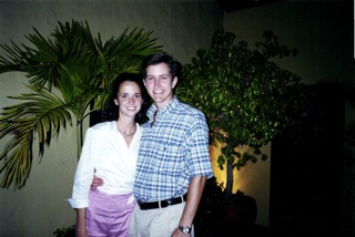 Kate Barber ('00) and Trent Jernigan ('00)