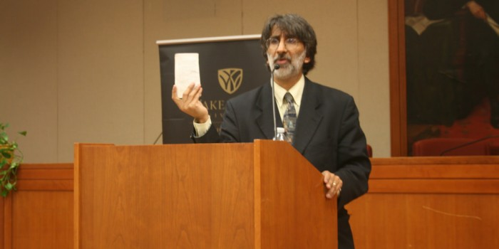 Professor Akhil Amar, Sterling Professor of Law and Political Science at Yale University