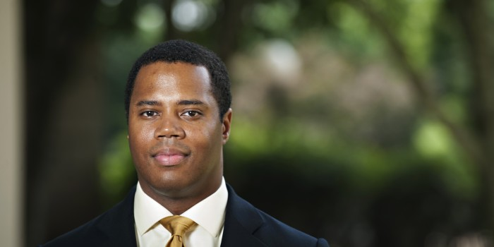 Photo of Associate Professor of Law Gregory Parks