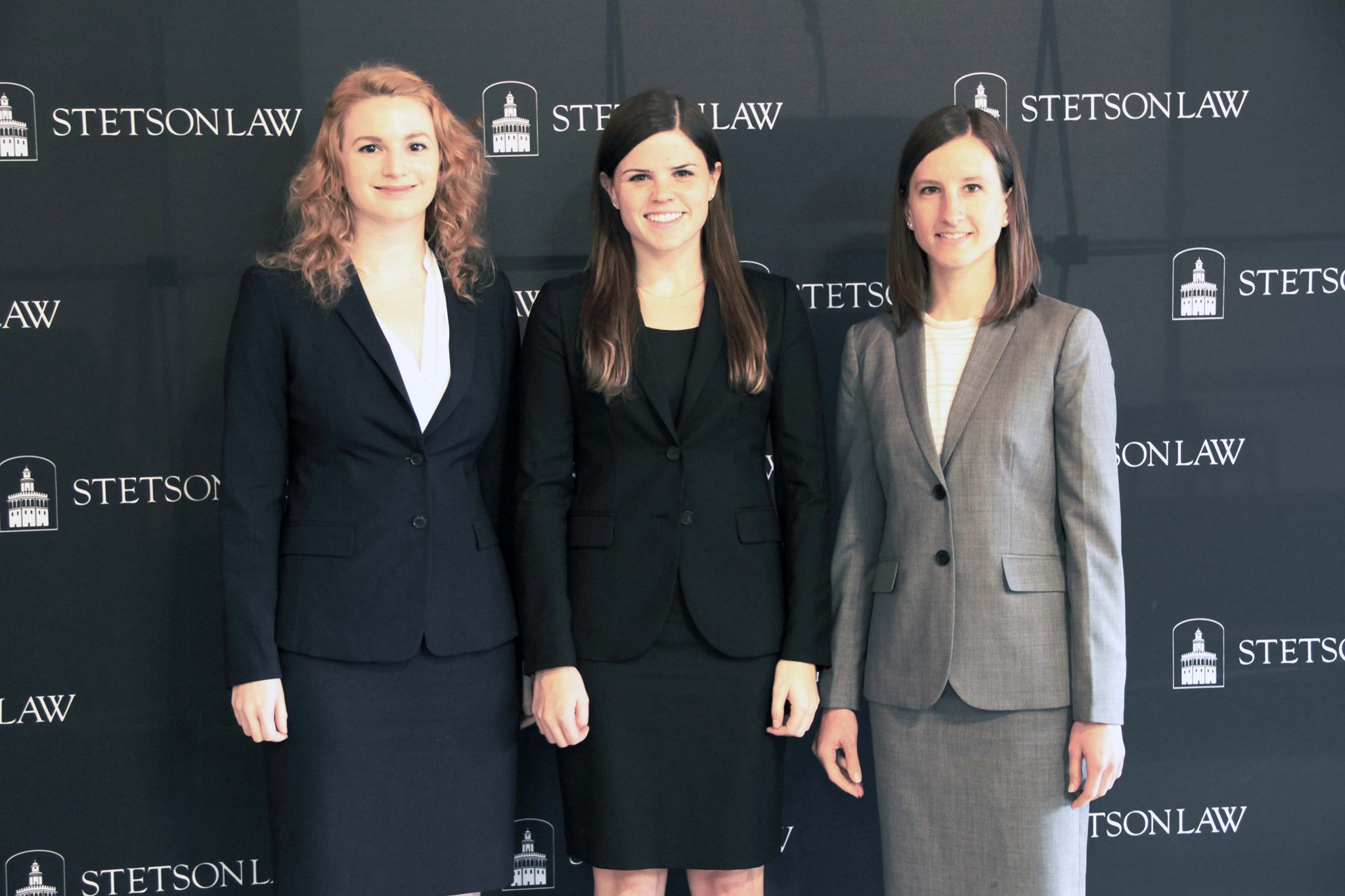 Ashley Sims ('16), Emily Singer ('16), and Elissa Hachmeister ('16),