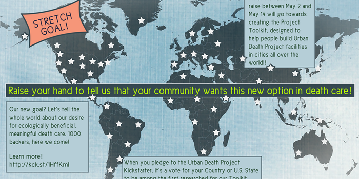 Graphic describing the Urban Death Project