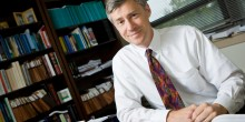 Wake Forest Law School professor John Knox teaches international law.
