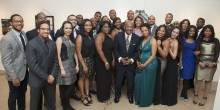Group photo at BLSA 31st annual scholarship banquet
