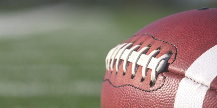 Photo of a football