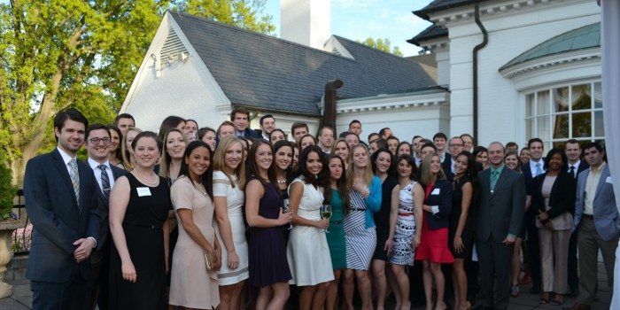 Law Review Closing Dinner Group Photo