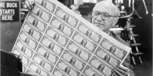 Photo of 20th Century Economist Milton Friedman