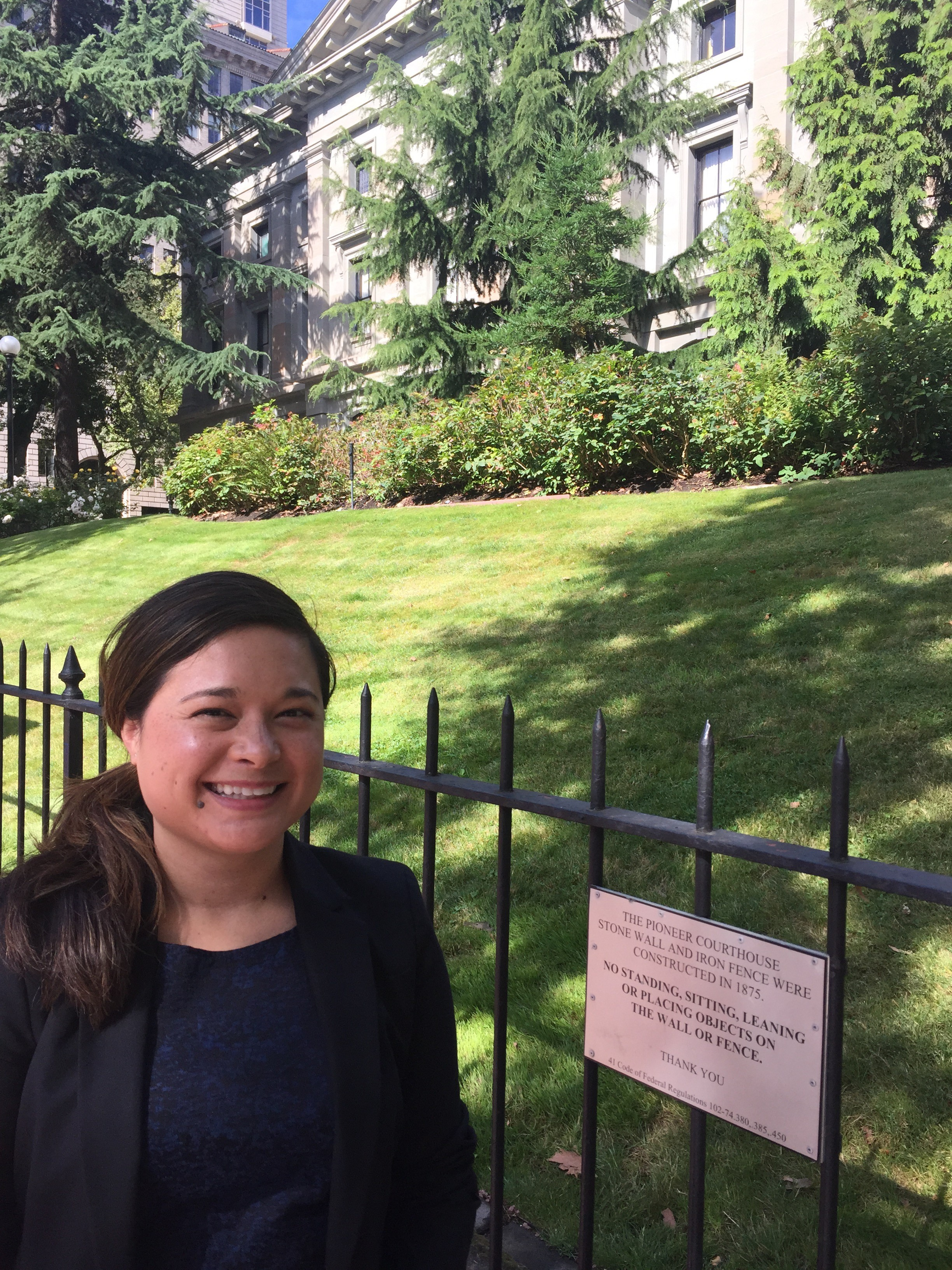 Photo of alumna, Stephanie Beale (JD '13)