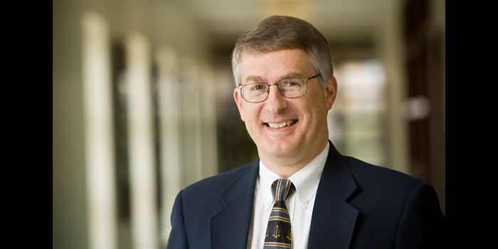 Photo of Professor John Korzen in the Worrell Professional Center