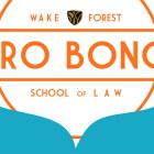 Graphic that says 'Wake Forest Pro Bono School of Law' in banner image
