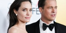 Photo of Angelina Jolie and Brad Pit at a red carpet event