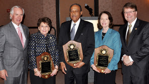 Photo of North Carolina Bar professionalism award winners