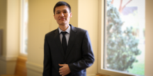 Photo of Wake Forest Law student, Javlon Otakulov