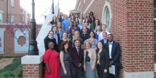 Photo of group of Newly inducted Pro Bono Honors Society Members 2016-17