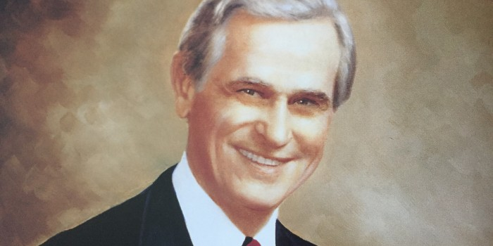 Photo of portrait of Dean John D. Scarlett