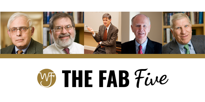 "Photo collage of with the words, ""The Fab Five"""