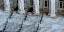 photo of courthouse steps