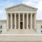 Exterior photo of the U.S. Supreme Court building