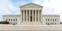 Exterior photo of the U.S. Supreme Court building