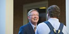 Photo of Brad Wilson ('78), CEO of Blue Cross Blue Shield North Carolina