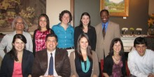 Group photo of Inaugural Pro Bono Honor Society members
