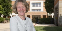 Dean Suzanne Reynolds ('77). Photo: Julie Knight. Courtesy Triad Business Journal.