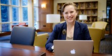 Photo of Sarah Saint (JD '17), who was named 'Law School Student of the Year' by National Jurist