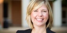 Photo of Law Librarian Liz McCurry Johnson